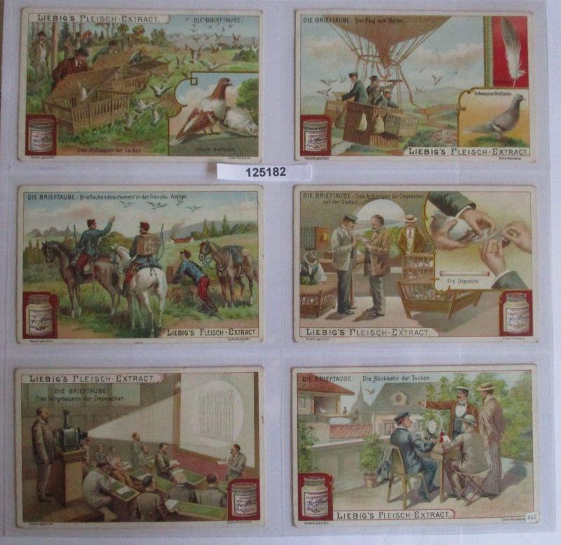 B125182 Liebigbilder Serie Nr. 525 Die Brieftaube 1902