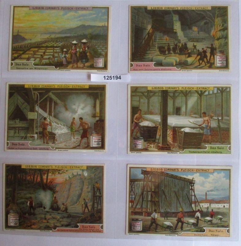B125194 Liebigbilder Serie Nr. 509 Das Salz 1901