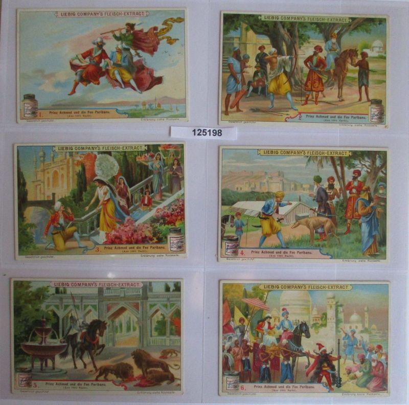 B125198 Liebigbilder Serie Nr. 507 Prinz Achmed und die Fee von Paribanu 1901