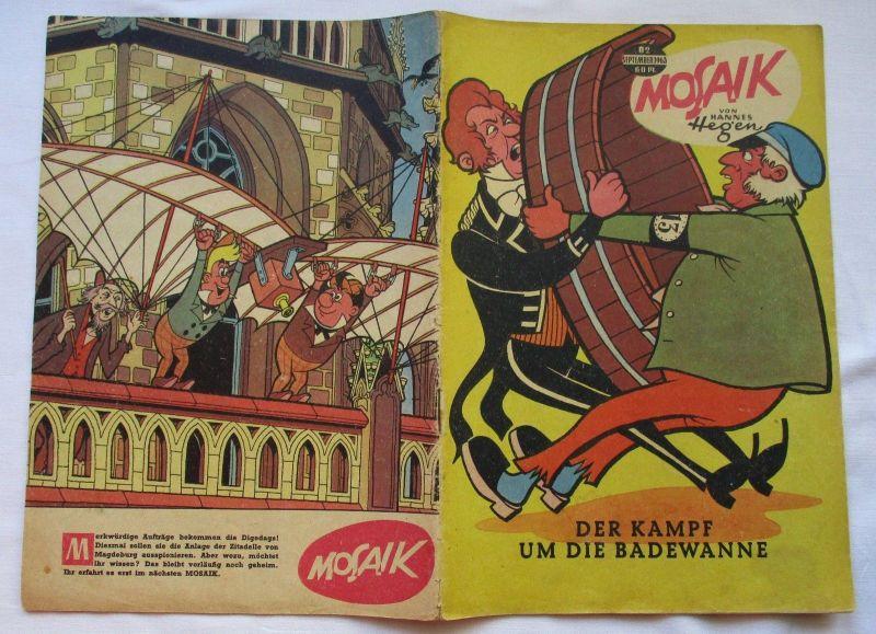 Mosaik von Hannes Hegen Digedag Nummer 82 von 1963 (124797)