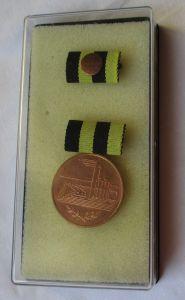 DDR Verdienstmedaille in der Kohleindustrie der DDR Bronze im Etui (124558)