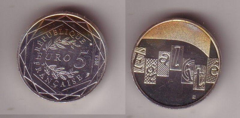 5 Euro Silber Münze Frankreich Egalite 2013 (115708)