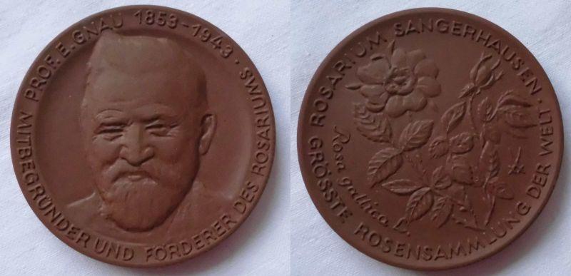 Medaille Meissner Porzellan Prof.E.Gnau 1853-1943 Sangerhausen (104779)