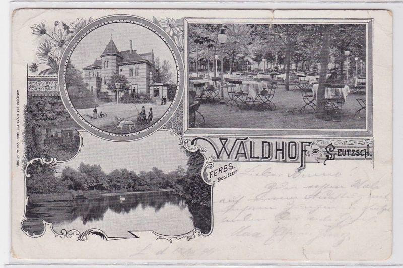 85595 Mehrbild Ak Waldhof Leipzig Leutzsch 1899