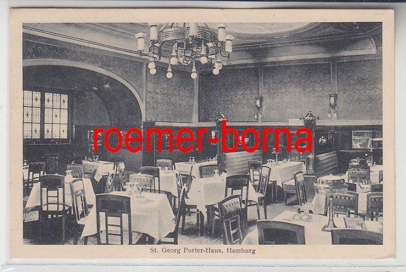 78392 Ak Hamburg St.Georg Porter Haus Hachmannplatz 3, 1910