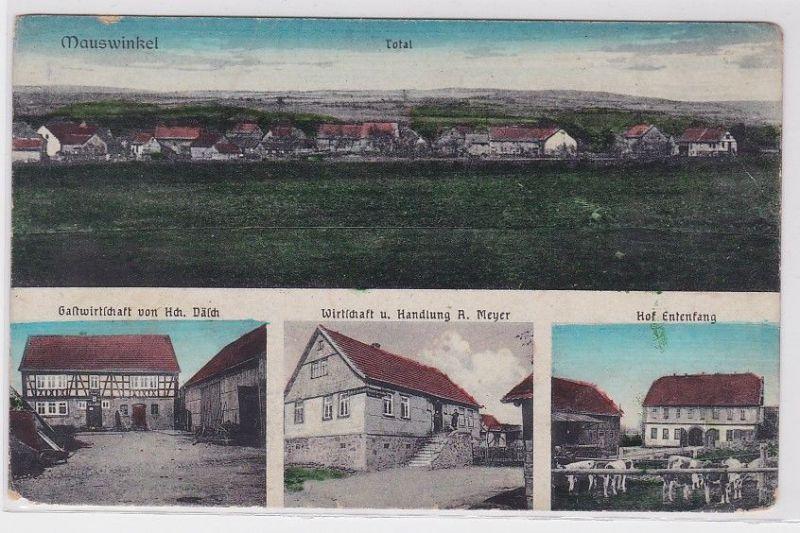 90572 AK Mauswinkel - Total, Gastwirtschaft H.Dälch & A.Meyer, Hof Entenfang 0