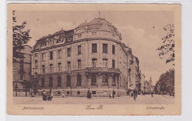 92213 Ak Gera Reuss Adelheidstraße Schloßstrasse 1943 0