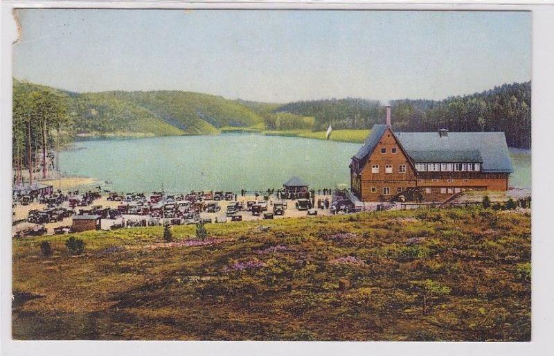 92545 Ak Gaststätte Talsperre Kriebstein 1932 0