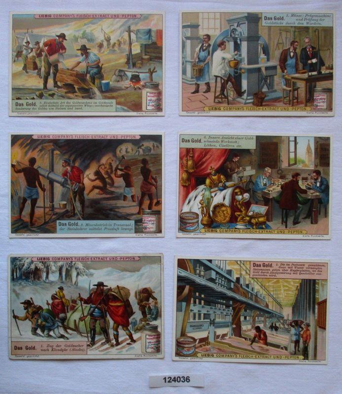 4/124036 Liebigbilder Serie Nr. 466 Das Gold 1900 0