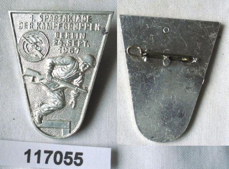 DDR Abzeichen 1.Kampfgruppenspartakiade Berlin 1967 (117055) 0