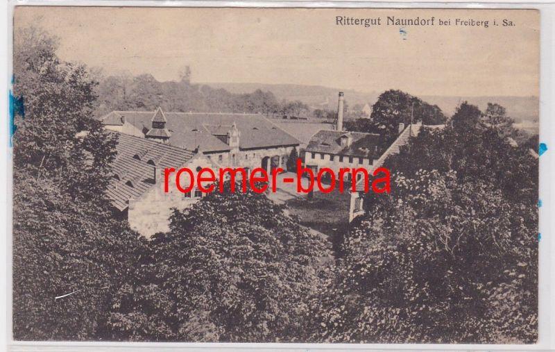 85295 Ak Rittergut Naundorf bei Freiberg in Sachsen 1928 0