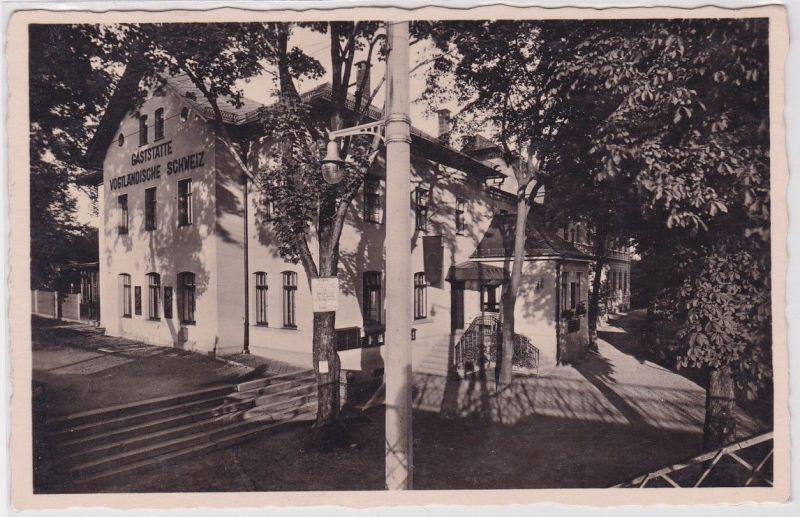 91985 Ak Jocketa Hotel & Sommerfrische Vogtländische Schweiz um 1940 0