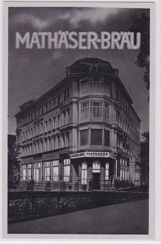 85517 Ak Leipzig Mathäserbräu um 1930 0