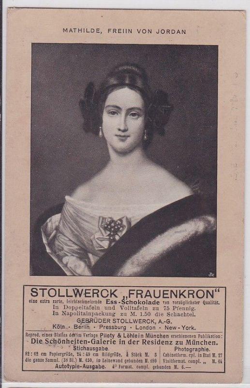 35987 Reklame AK Stollwerck