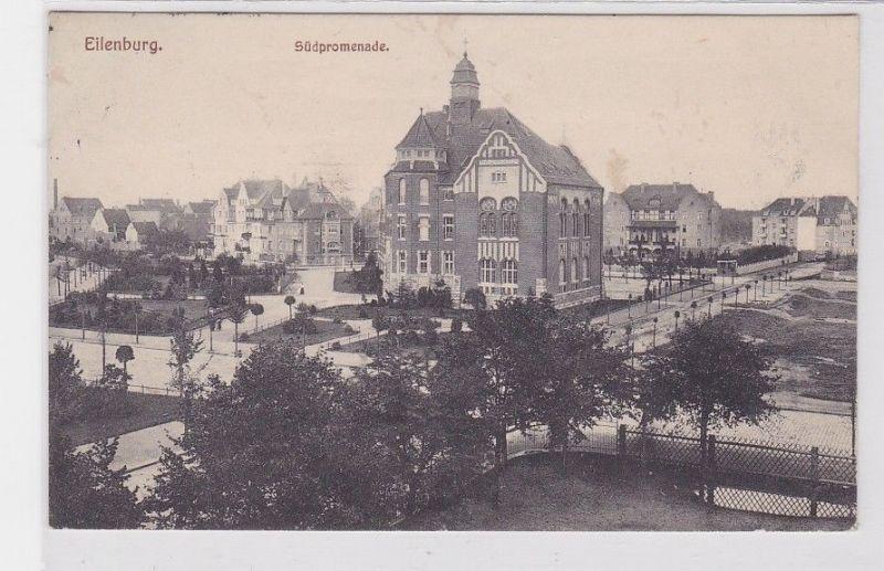 77228 Ak Eilenburg Südpromenade 1914