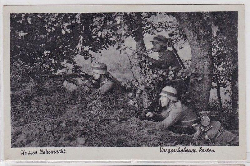 88851 AK Unsere Wehrmacht - Vorgeschobener Posten