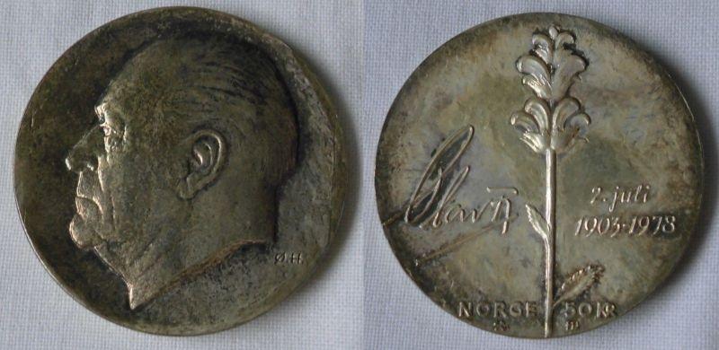 50 Kronen Silber Münze Norwegen 1978 Stgl125839 Nr 332786483054