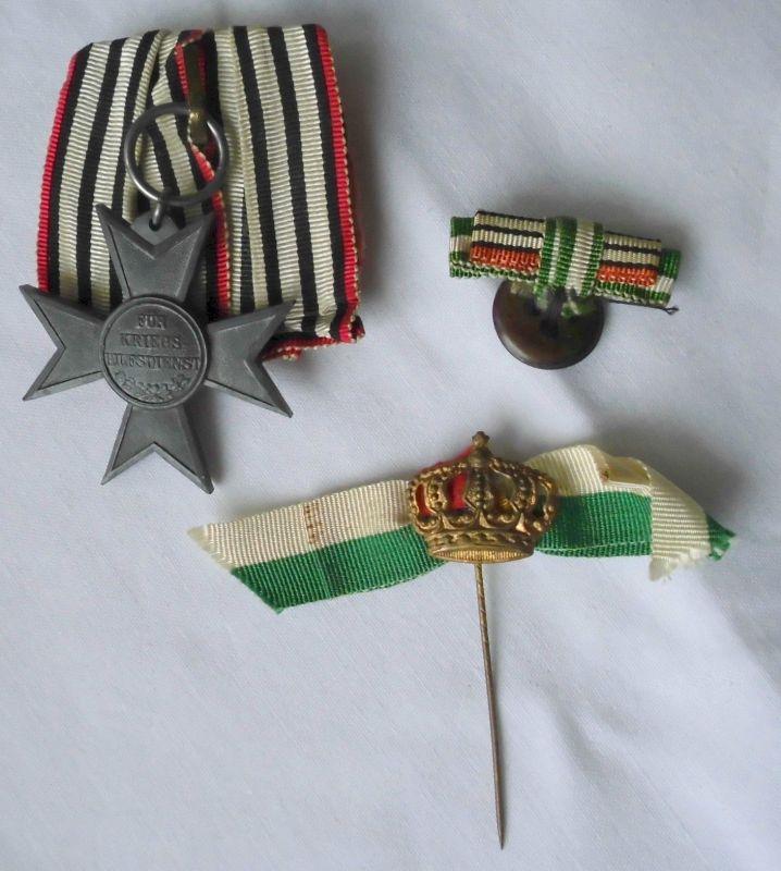 Einzelspange Preussen Kreuz für Kriegshilfsdienste 1.Weltkrieg  (100506)