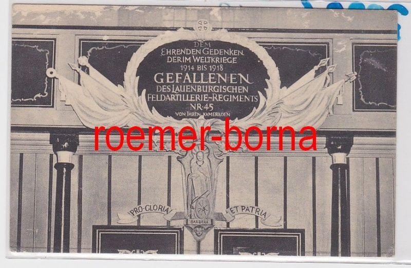 85992 Ak Rendsburg Einweihung Ehrenmal Lauenb. Feldart.-Rgt. 45 am 7.6.1925