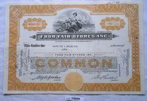 Aktie 1 Dollar Food Fair Stores Inc. New York 20.01.1950 (116289)