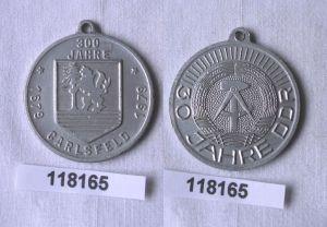 DDR Medaille 30 Jahre DDR 300 Jahre Carlsfeld 1979-1979 (118165)