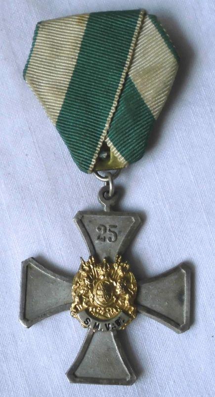 Seltenes Abzeichen 25 Jahre sächsischer Militärvereins Bund (113275)