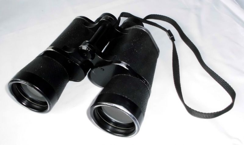 Carl zeiss jena binoctem q fernglas binoculars mit tasche