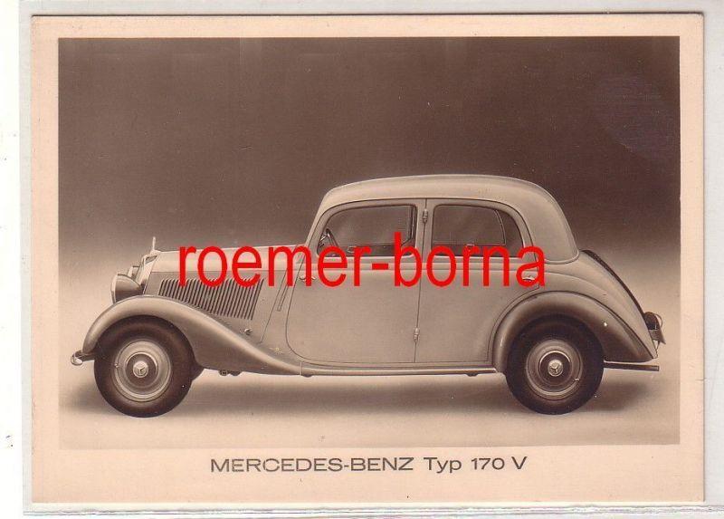 29315 Ak Mercedes Benz Typ 170 V um 1936