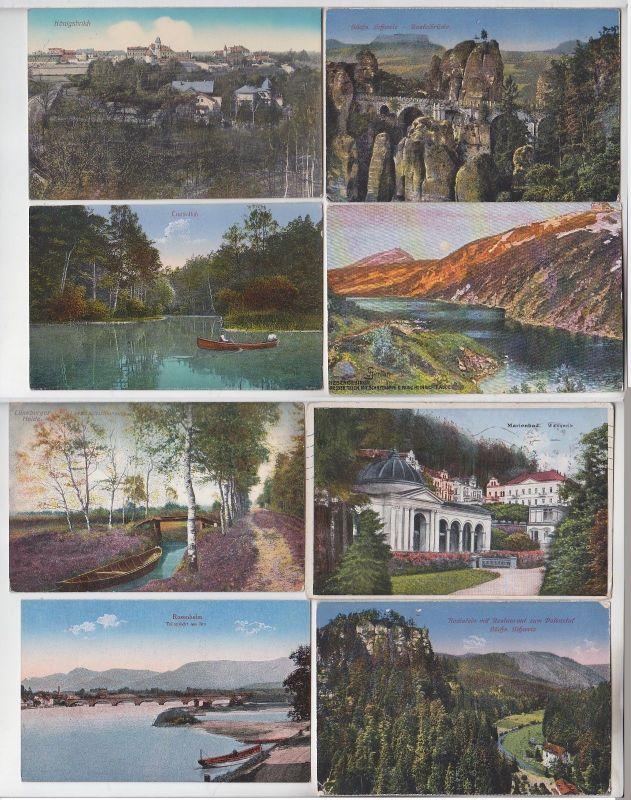 100 interessante alte Ansichtskarten um 1910-1940 (A) (69850)