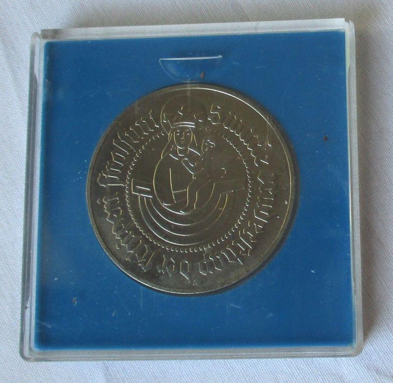 Seltene DDR Medaille Schiffer-Compagnie Stralsund 1488-1988 (114228)