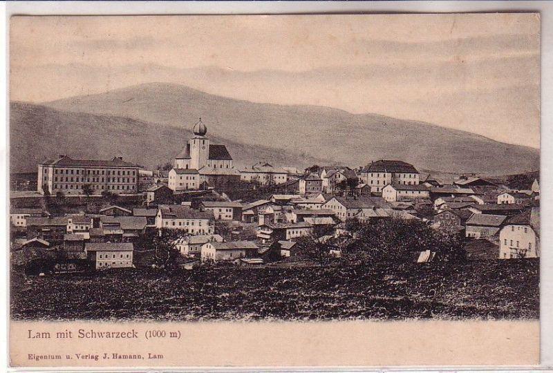 68326 Ak Lam mit Schwarzeck Totalansicht 1908