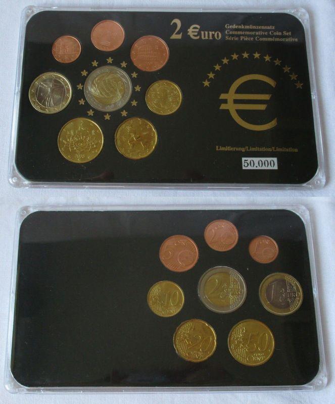 Kursmünzsatz Italien Sonderprägung 8 Münzen Im Blister 1 Cent 2