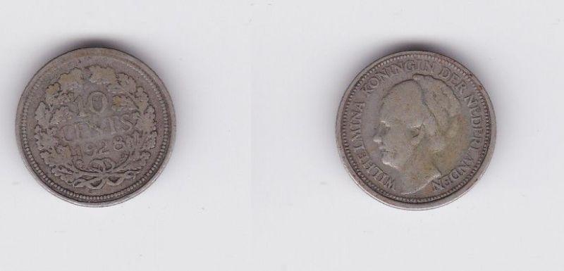 10 Cent Silber Münze Niederlande 1928 119517 Nr 232925215102
