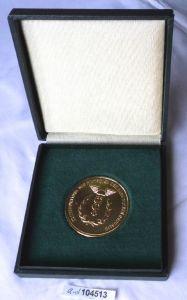 DDR Medaille Zollverwaltung der DDR im Original Etui (104513)