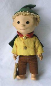 Sandmann Sandmännchen DDR Figur Puppe alt original 70er Jahre (118010)