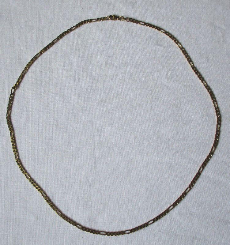 Elegant schlichte Kette aus 333er Gold Gliederkette (124200)