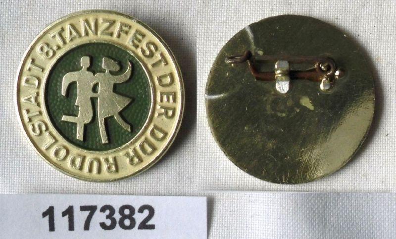 DDR Abzeichen 8.Tanzfest der DDR Rudolstadt (117382)