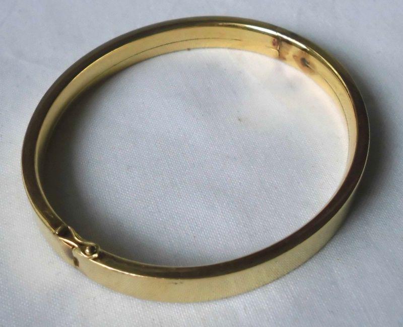 Hübscher Armreifen Armapange Golddoublé  (110634)
