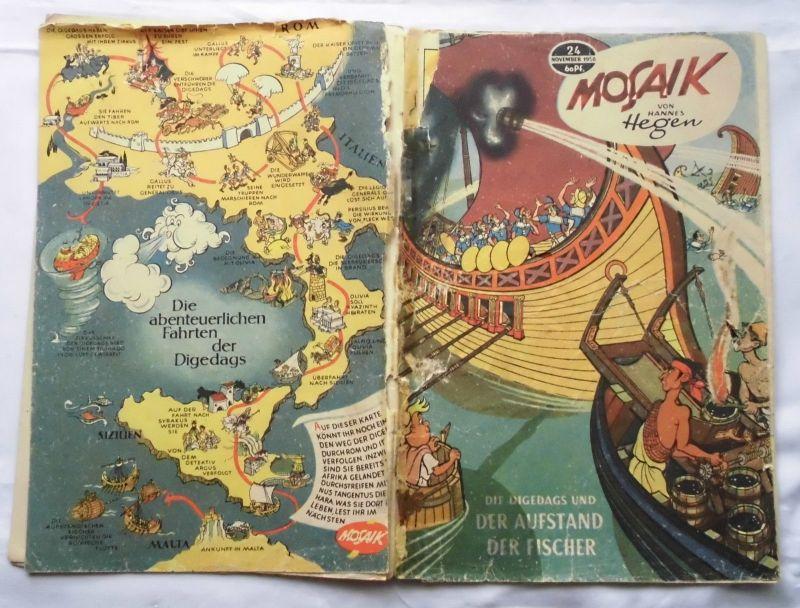 Mosaik von Hannes Hegen Digedag Nummer 24 von 1958 (120792)