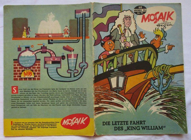 Mosaik von Hannes Hegen Digedag Nummer 60 von 1961 (124755)