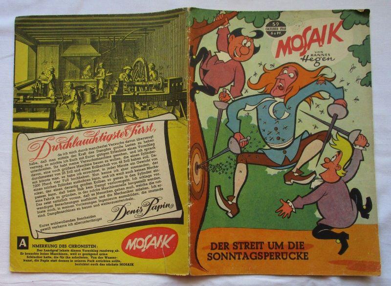 Mosaik von Hannes Hegen Digedag Nummer 59 von 1961 (124795)