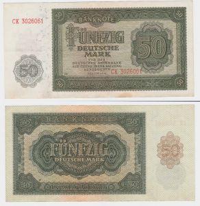50 Mark Banknote DDR Deutsche Notenbank 1948 (107490)