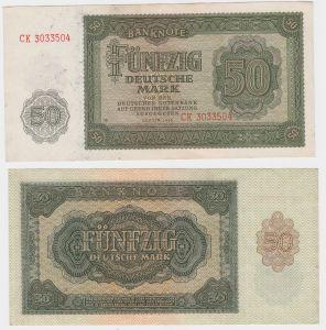 50 Mark Banknote DDR Deutsche Notenbank 1948 (105032)