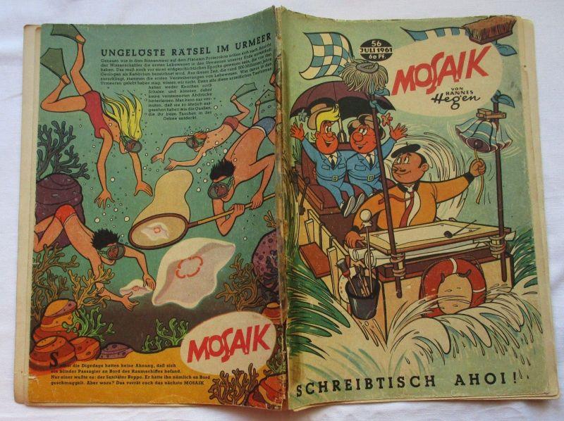 Mosaik von Hannes Hegen Digedag Nummer 56 von 1961 (124832)