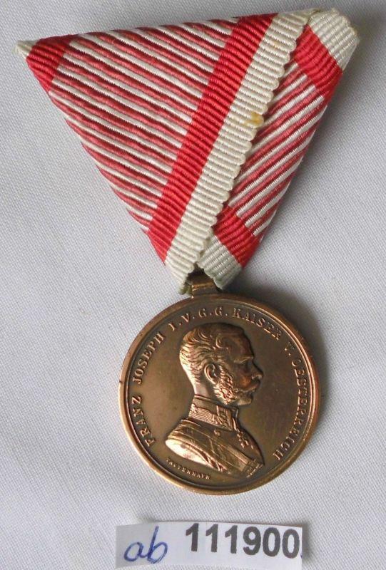 Ehren-Denkmünze für Tapferkeit (Österreich) in Bronze (111900)