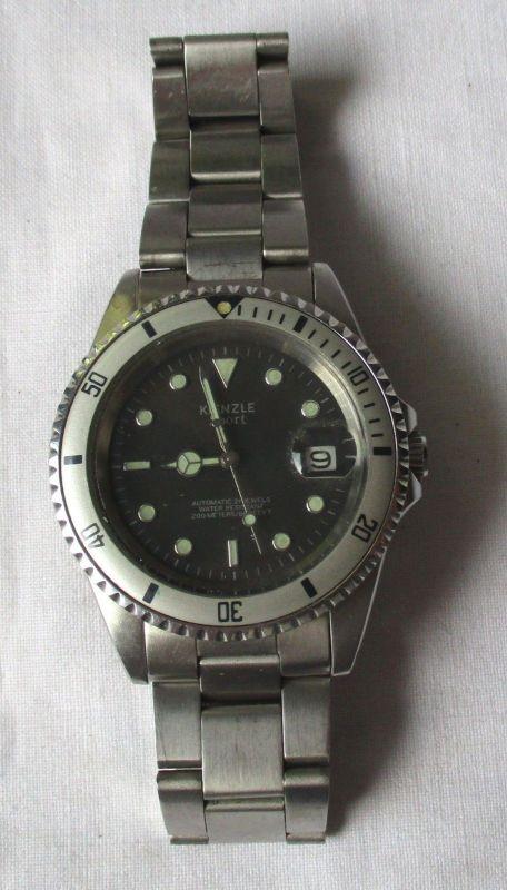 Automatik Herren Armbanduhr Marke Kienzle Sport 21 Jewels / Steine (119375)