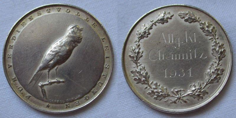 Medaille für Verdienstvolle Leistungen Allgemeine Klasse Chemnitz 1931 (115096)