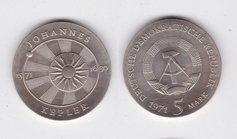 DDR Gedenk Münze 5 Mark Johannes Kepler 1971 (119687)