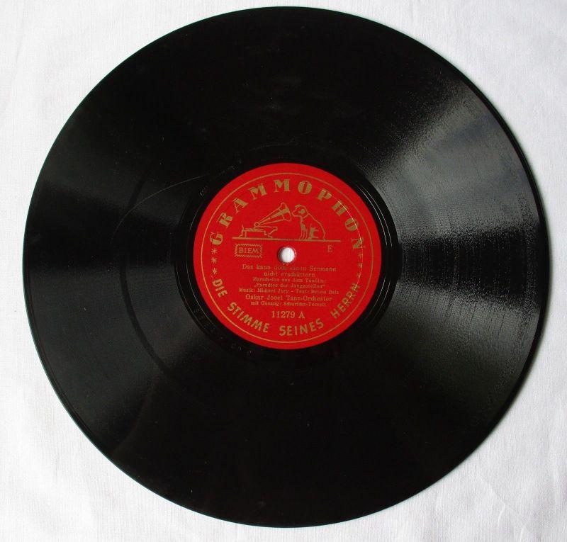 105524 Grammophon Schellackplatte Das kann doch einen Seemann nicht erschüttern