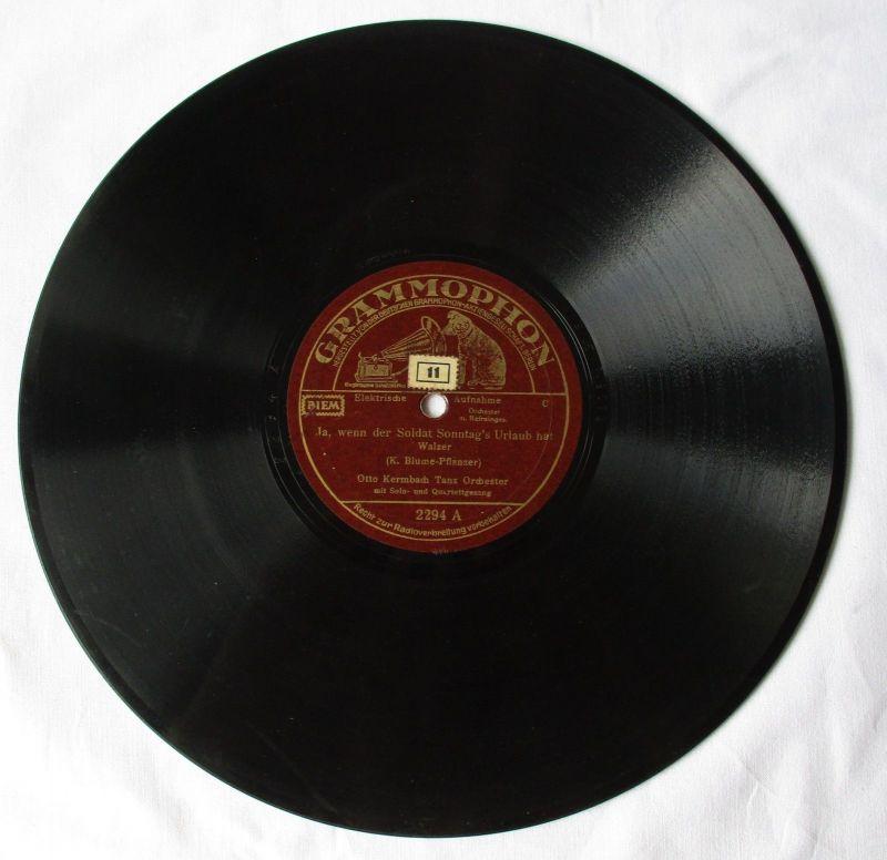 101341 Grammophon Schellackplatte In München steht ein Hofbräuhaus um 1930